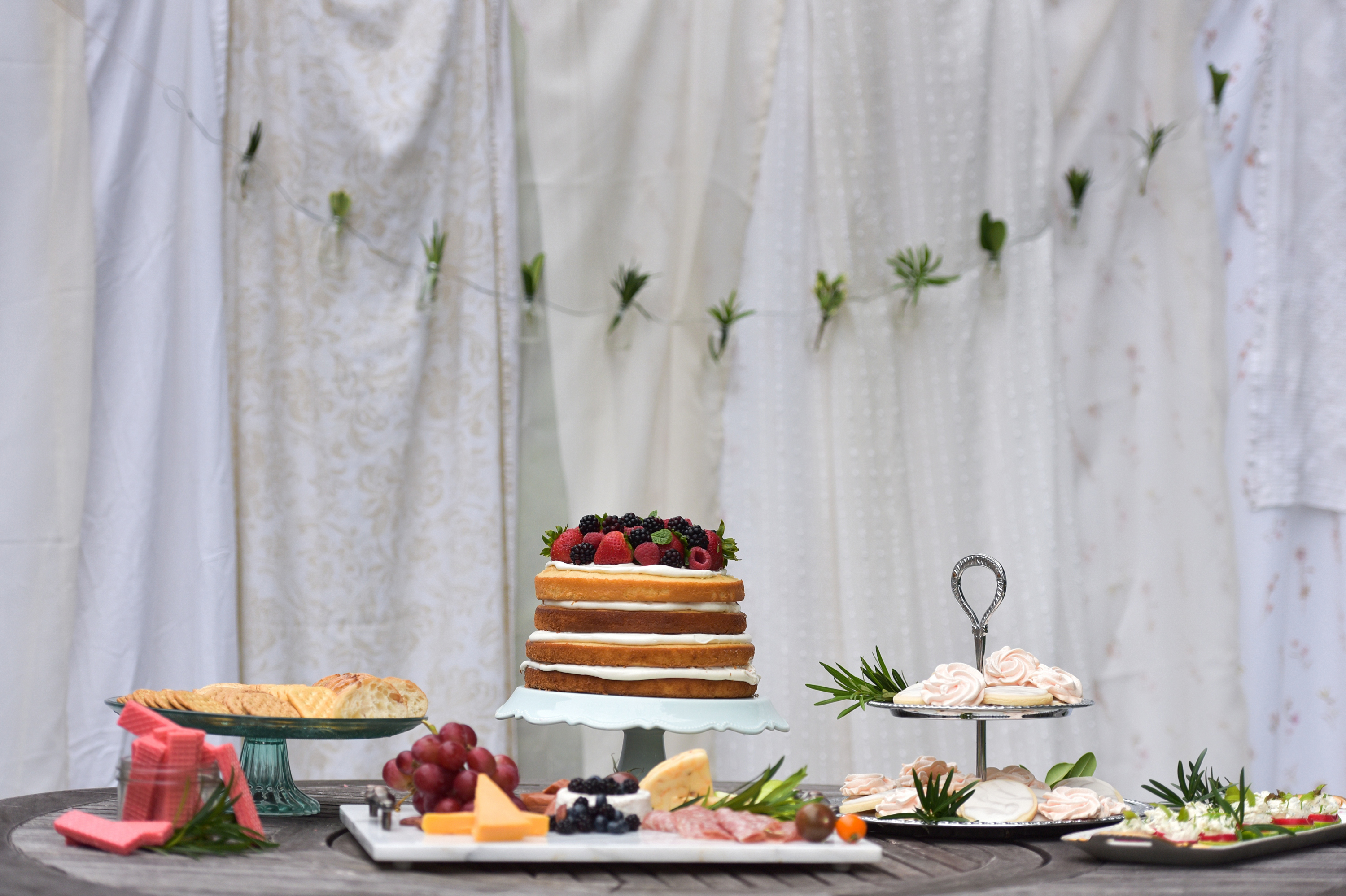Always Time for Tea – A Collaborative Outdoor Tea Party